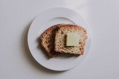 GF bread  + vegan butta