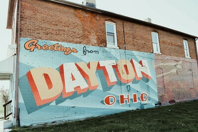 Dayton Mural Photograph