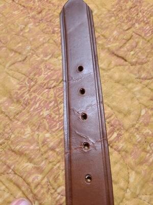 Handmade Leather Belt.