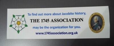 1745 Association Car Sticker