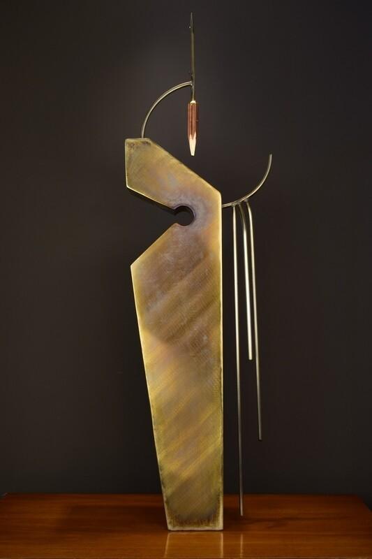 'Yaqui' Stainless Steel Metal Sculpture