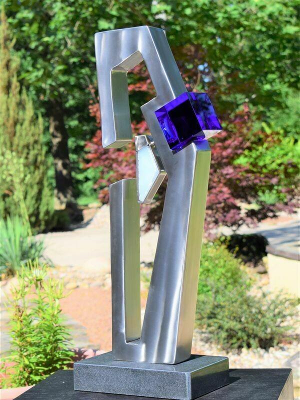 'Cobalt' Stainless Steel & Glass