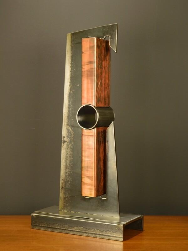 'Devise' Modern Metal Sculpture
