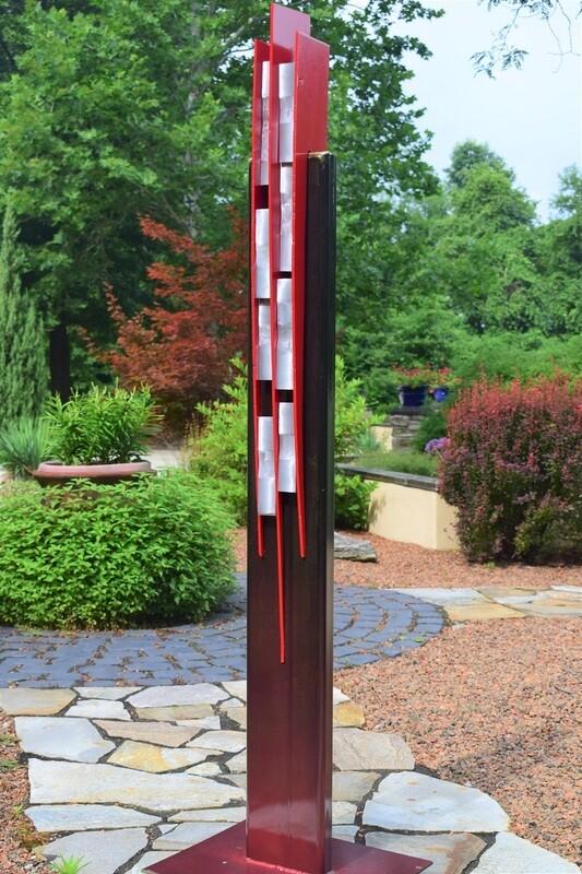 'Glissando' Steel & Aluminum Sculpture