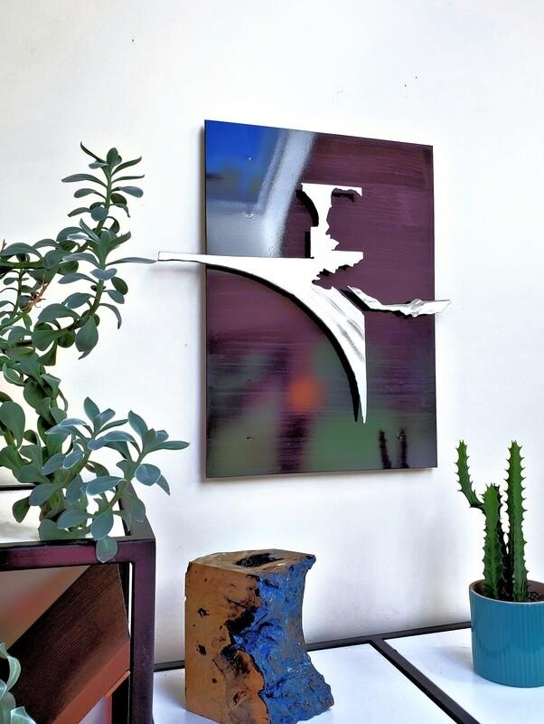 'Monsoon' 3D Metal Wall Art