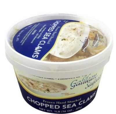Frozen Minced Clams 1lb - Jordan Brothers Seafood  **note ordering deadline**