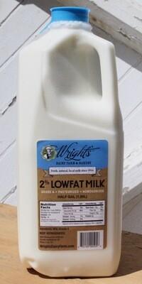 2% Milk - half gallon