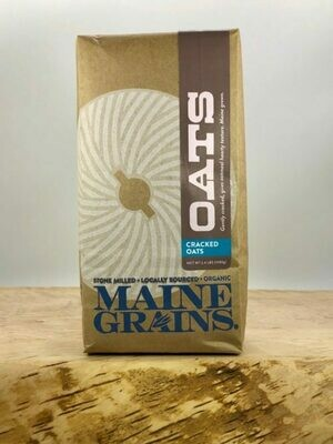 Cracked Oats, Organic - Maine Grains