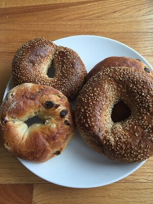 Bagels 1/2 dozen - Iggy's Bread