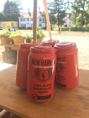 Black snap Chilled Coffee - New Harvest Roasters