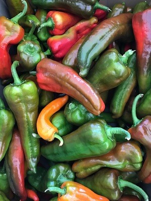 Sweet Horn Peppers - Double Quart