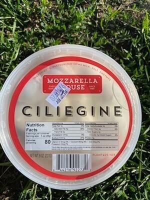 Mozzarella Ciliegine - The Mozzarella House