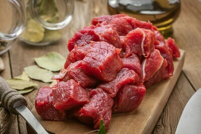 Stew Beef, 1 lb - Woodlawn and Liberty Farm