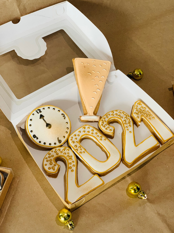 Galletas año nuevo 2021