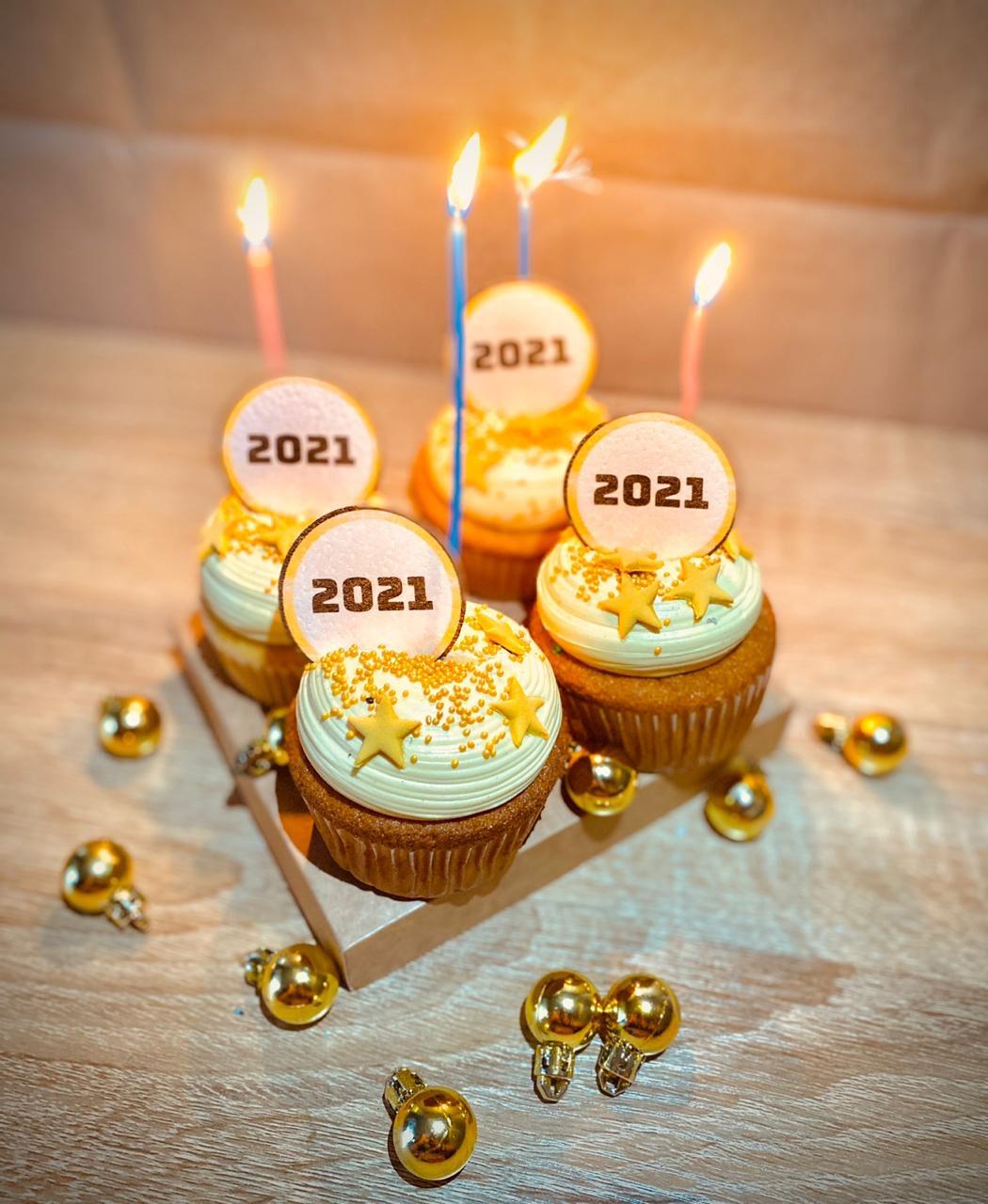 Cupcakes 2021 caja x6
