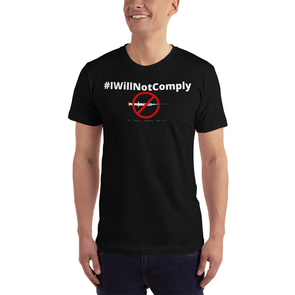 """""""#IWillNotComply"""""""