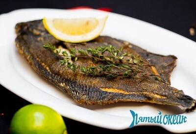Рыба сезонная жареная, 100 гр.