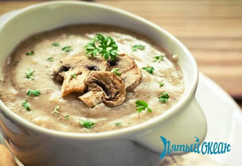 Крем-суп из шампиньонов, 300 гр