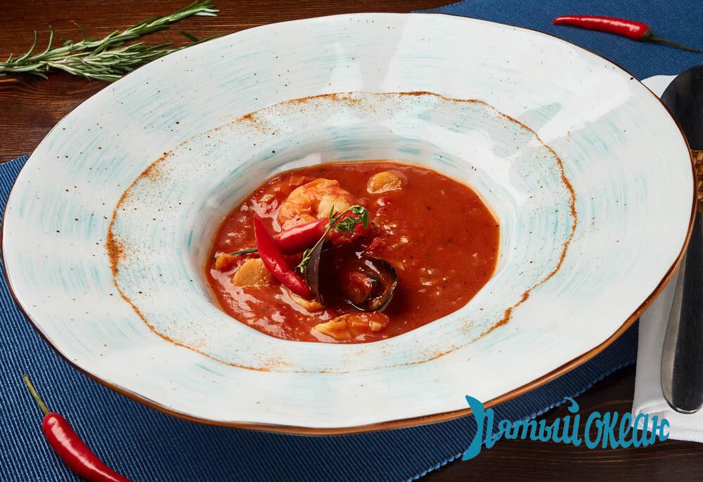 Марсельский Томатный суп с морепродуктами, 250 гр