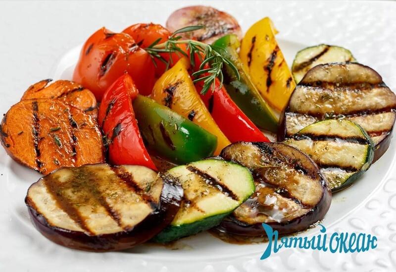 Овощи на гриль / на пару, 150 гр
