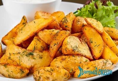 Картофельные дольки, 150 гр