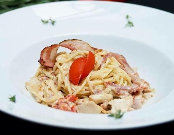 Спагетти Карбонара, 250 гр