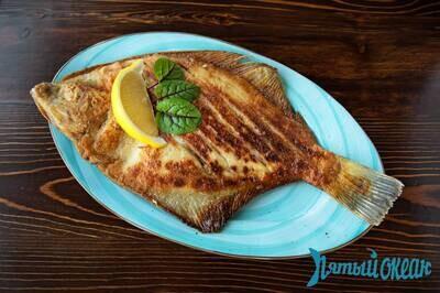 Рыба сезонная жареная, 100 гр. (выход может отличаться)