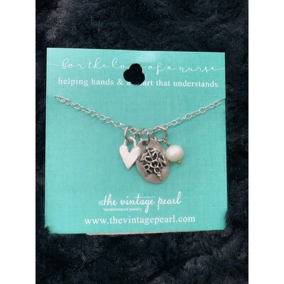 FOR THE LOVE OF A NURSE NECKLACE