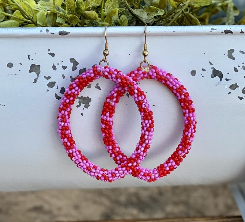 DROP OF BEADS EARRINGS