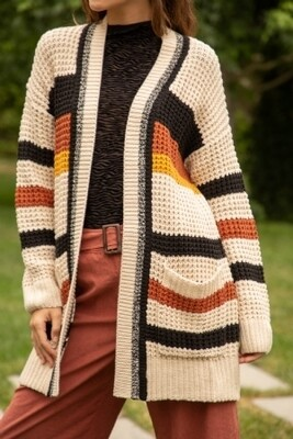 LIVING FOR FALL CARDIGAN