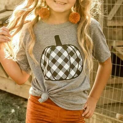 Plaid Pumpkin Toddler & Youth