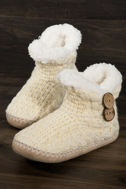 WARM & COZY BOOTIE SLIPPERS