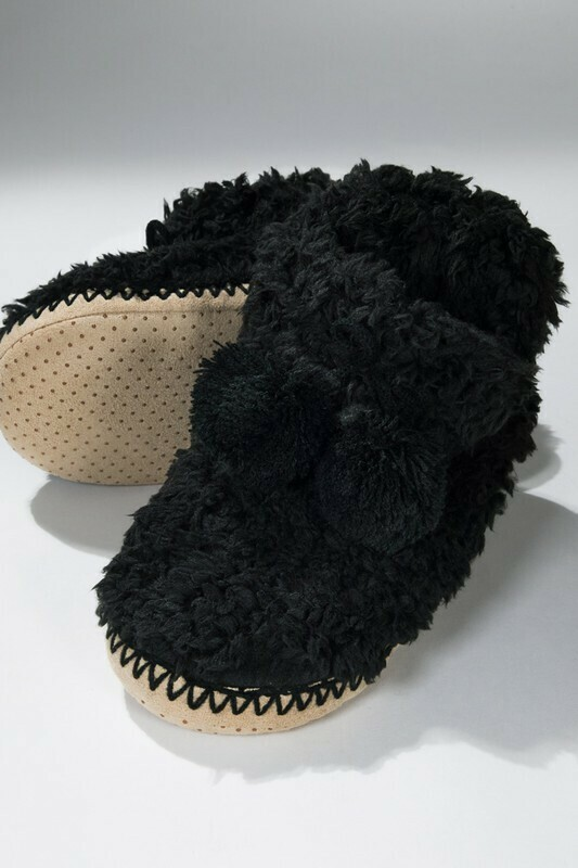 STAY COZY BOOTIE SLIPPERS