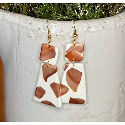 CATTLE PRINTS EARRINGS