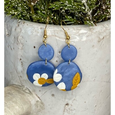FIELDS OF BLUE EARRINGS