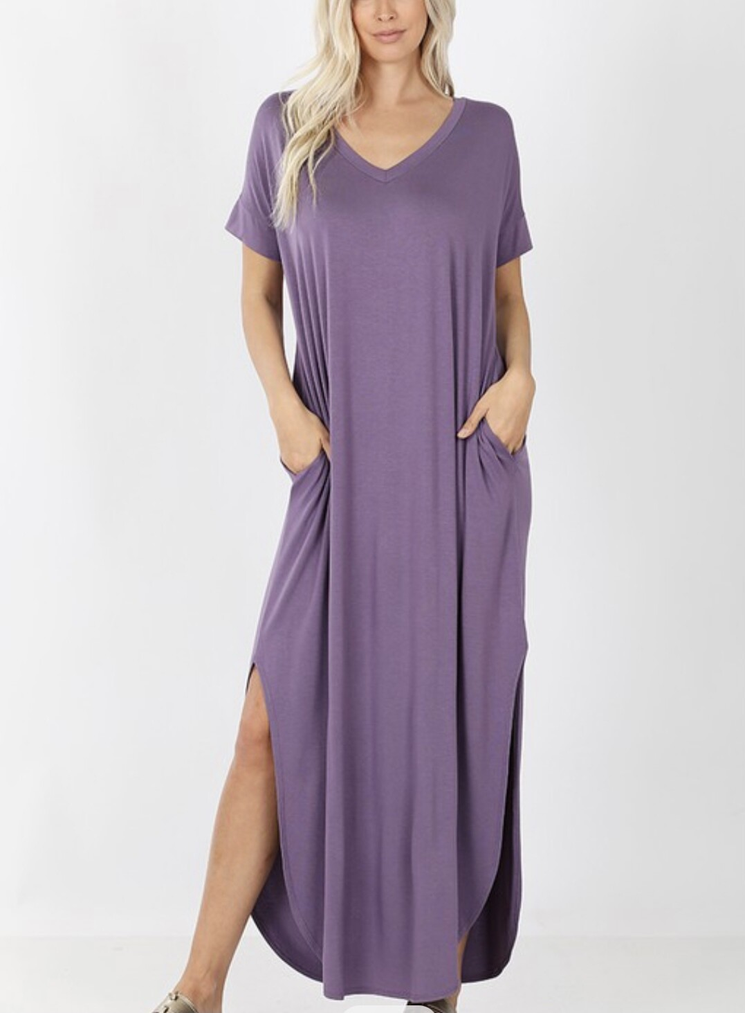 STAYING LOW KEY MAXI DRESS