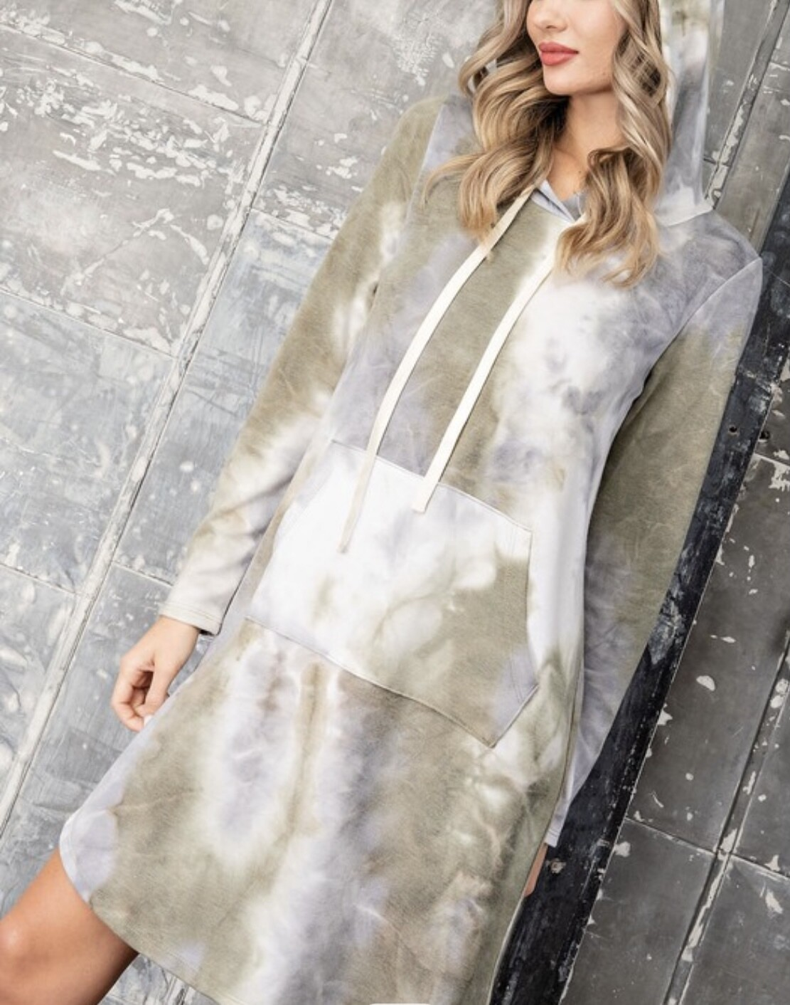 ON THE GO HOODIE DRESS