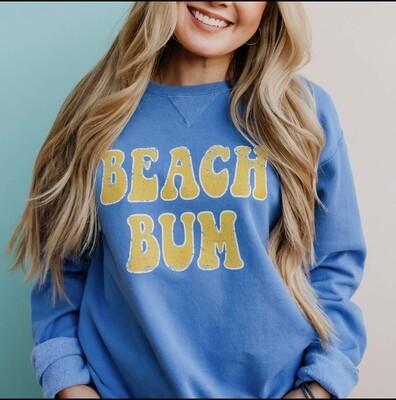 BEACH BUM CREW SWEATSHIRT