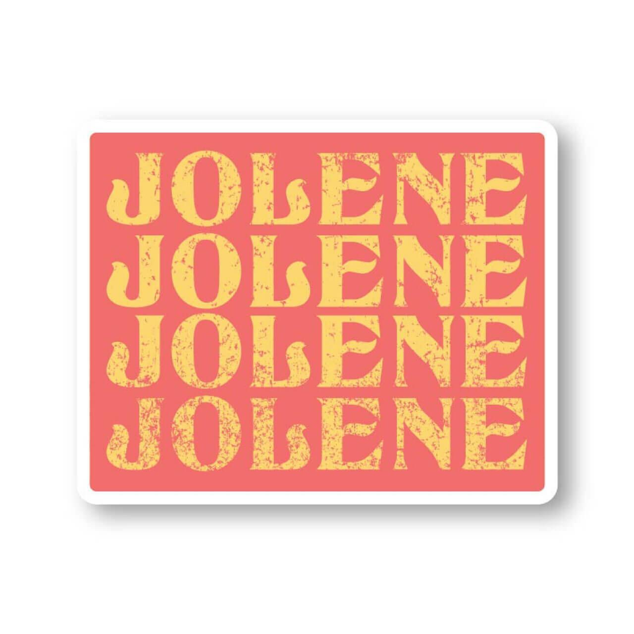 JOLENE DECAL