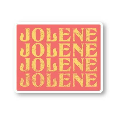 JOLENE DECAL