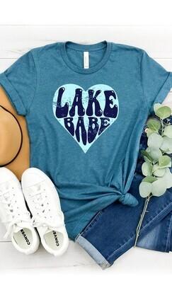 LAKE BABE GRAPHIC TEE