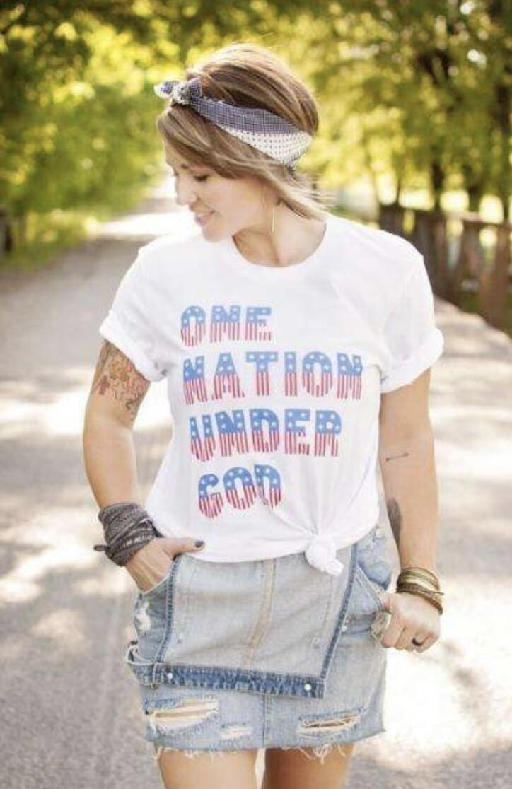 ONE NATION UNDER GOD TEE