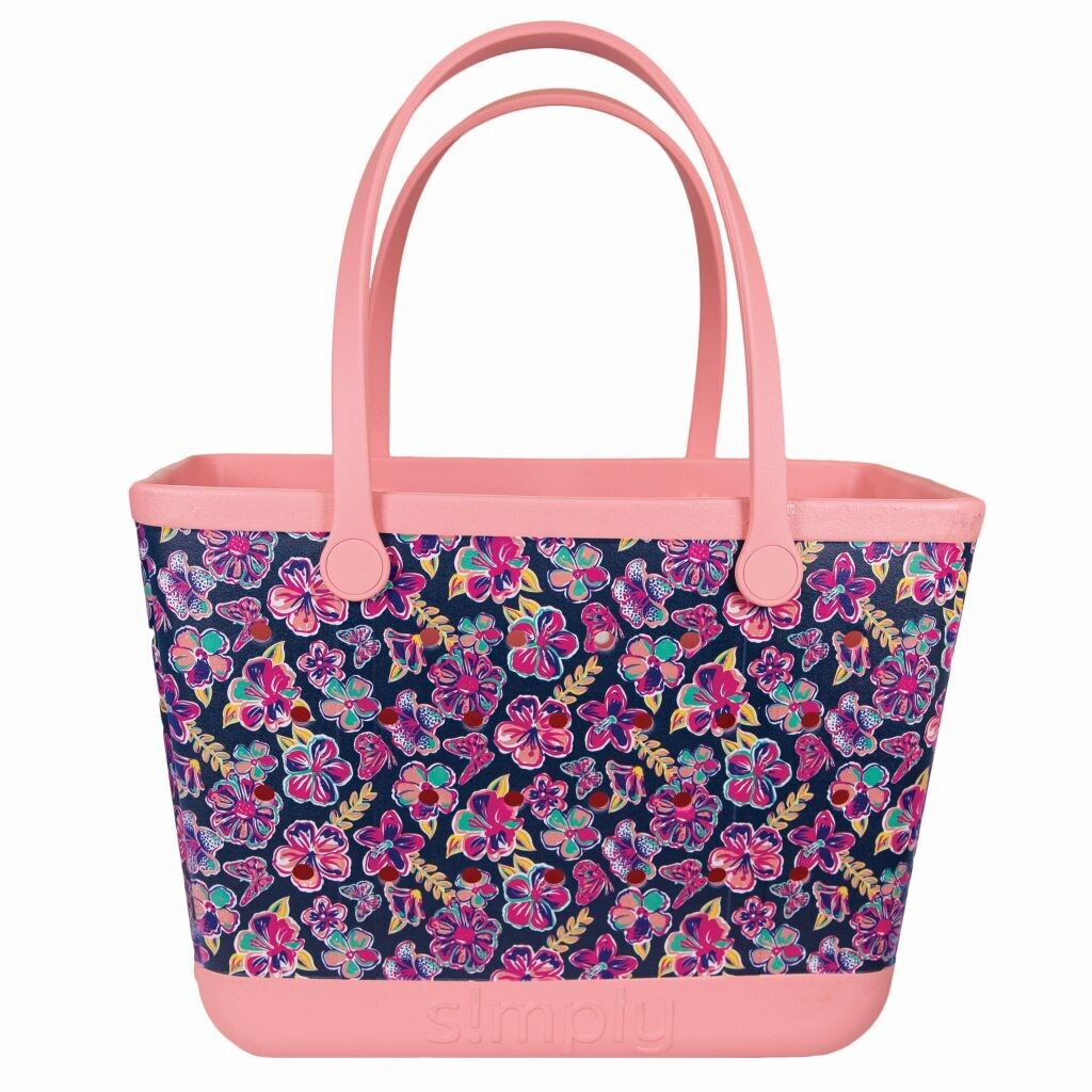 SIMPLY SOUTHERN LARGE PRINTED TOTES