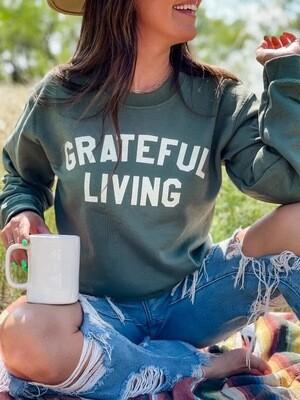 GRATEFUL LIVING SWEATSHIRT
