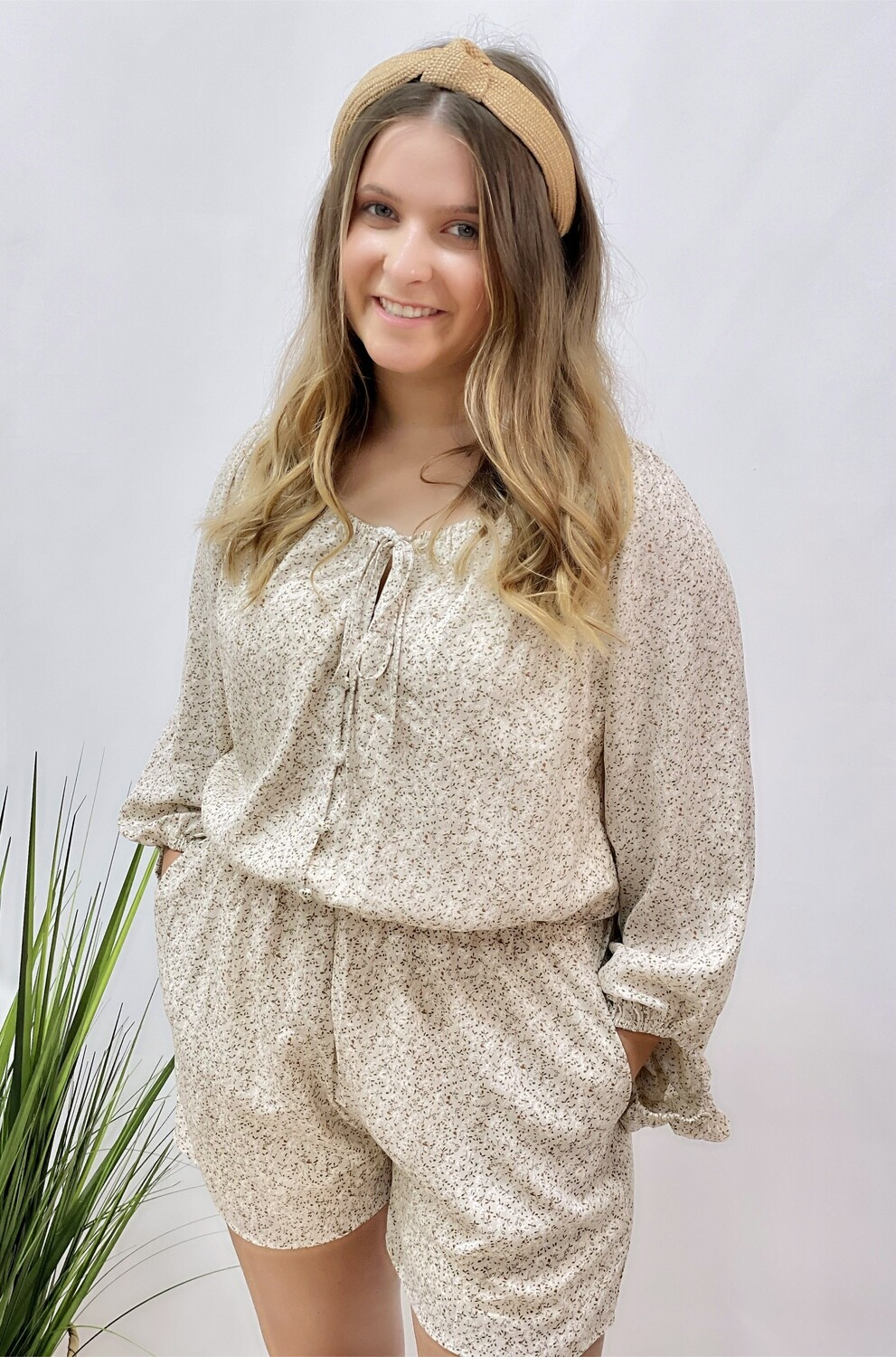 THE WAIT IS OVER ROMPER