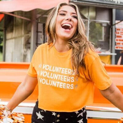 STARRY TENNESSEE VOLUNTEERS T-SHIRT
