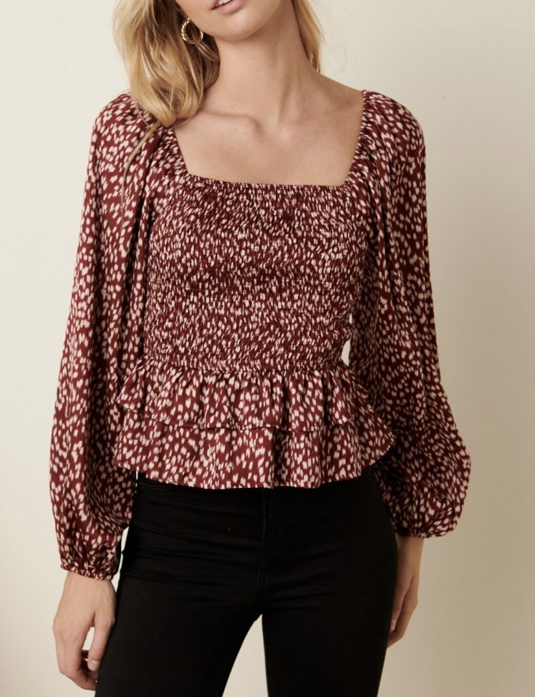 THE BEST OF ME BLOUSE