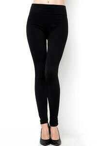 NO SIZE FLEECE LEGGING