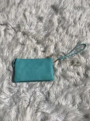 Turquoise Riley Crossbody/Wristlet
