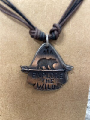 Explore The Wild Necklace